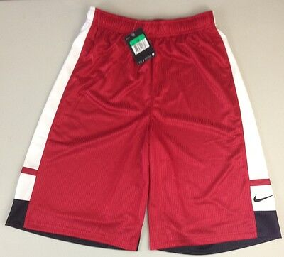 Nike Boy's Franchise Basketball Shorts  678465 648 Red - Nwt