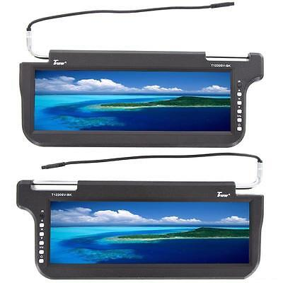 """Tview T1220SV 12.2"""" TFT LCD Replacement Sun Visor Car Monitor"""