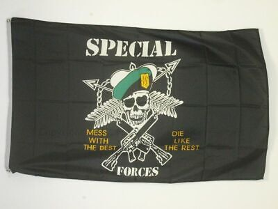 USA ARMY SPECIAL FORCES FLAG 3' x 5' - US - AMERICAN FLAGS 90 x 150 cm - BANNER