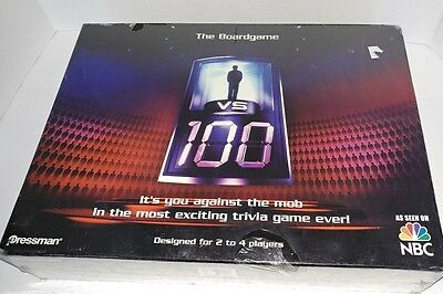 The Boardgame .. It's you against the mob trivia game VS 100 as seen on NBC