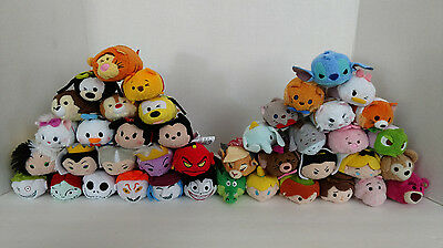 "Disney Collection Mini Tsum Tsum 3.5"" Plush US Seller Over 80 Styles Choose One"
