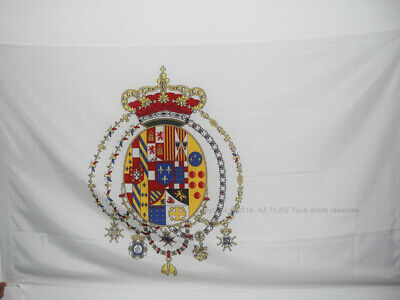 KINGDOM OF THE TWO SICILIES 1816 FLAG 3' x 5' for a pole - ITALY - FORMER ITALIA
