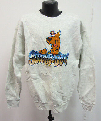 Scooby Doo Adult Xl Sweatshirt Crew Printed New Cartoon Network Vintage Retro