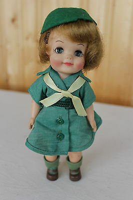 Effanbee Girl Scout Fluffy Doll, Vintage