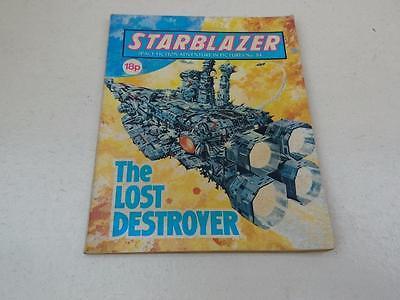Starblazer Comic No.84 The Lost Destroyer