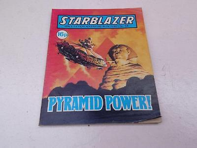 Starblazer Comic No.58 Pyramid Power!