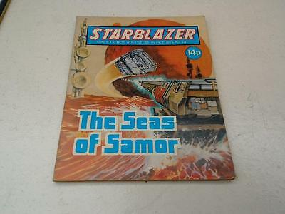 Starblazer Comic No.34 The Seas of Samor