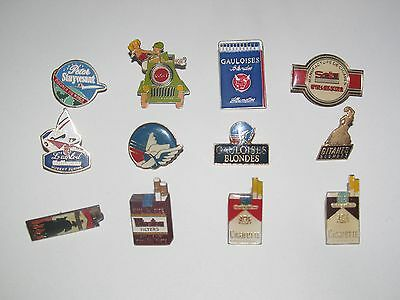 Pin's Publicitaire Collection Metal + Attache Marques Tabac Modèle au choix