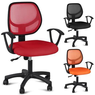 Adjustable Ergonomic Swivel Computer Office Desk Midback Task Mesh Chair Study