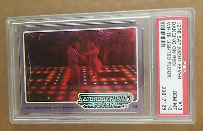 1978 Saturday Night Fever - #13 -Dancing On Red/white - Psa 10