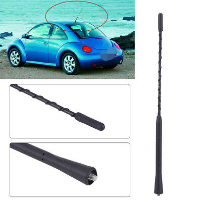 """Universal Car Auto Roof Mast Radio FM AM Amplified Booster Aerial Antenna 11"""" DY"""