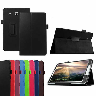 Folio flip leather case cover for Samsung Galaxy Tab E, T 560 9.6 inch