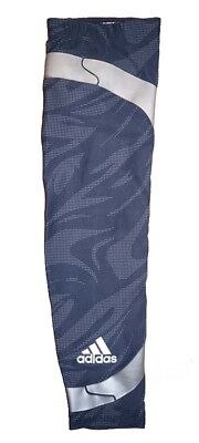 NWT Adidas Men's Techfit Powerweb GFX Compression Arm Elbow Sleeve - Navy/Lead