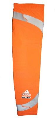 NWT Adidas Men's Techfit Powerweb GFX Compression Arm Elbow Sleeve - Orange