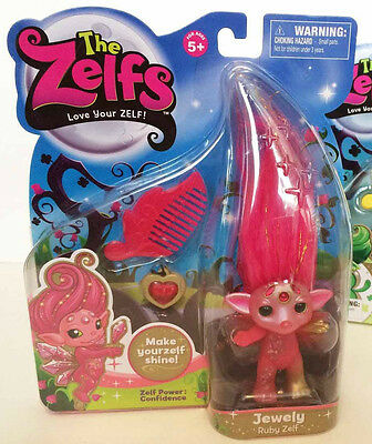 The Zelfs 2014 Medium Series 2 JEWELY RUBY Zelf ULTRA RARE Limited Hard to Find!
