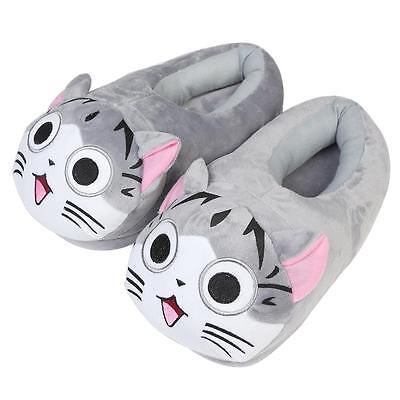 Cartoon Cat Cotton Slippers Soft Warm Home Slipper Anime cartoon Plush Stuffed