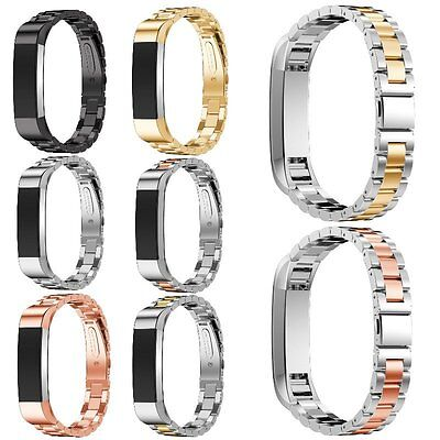 Replacement Stainless Steel Wristwatch Band For Fitbit Charge 2 Strap Bracelet