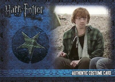 Harry Potter & the Deathly Hallows Part 1 Ron Weasley C6 Costume Card