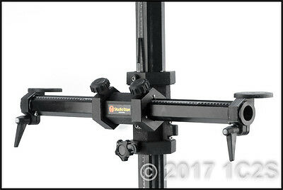 STUDIO TITAN CAMERA STAND 6-foot Pro Photography Tripod w/Single-Wheels Tether