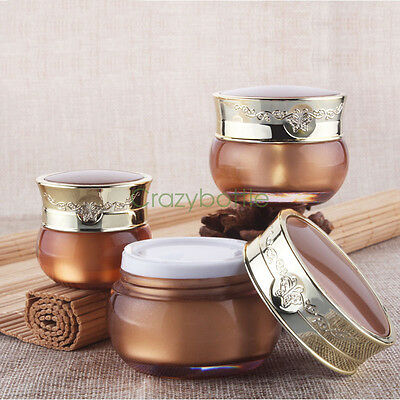 10g 30g Palace Empty Cream Jar Containers Cosmetic Lotion Bottle Sub-Bottling