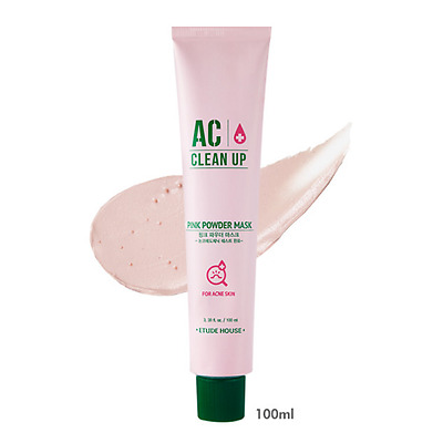 [ETUDE HOUSE] AC Clean Up Pink Powder Mask 100ml / Korea Cosmetic