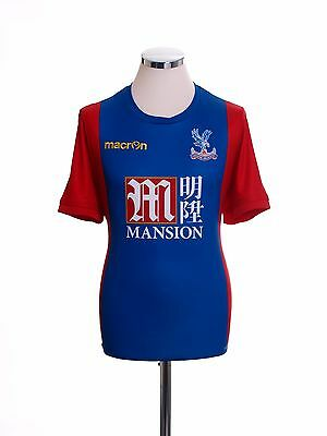 2016-17 Crystal Palace Macron Home Football Shirt Jersey Top *BNIB* S-M-L-XL-XXL