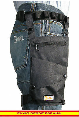 Bolsa Pernera para moto biker, bolsa de pierna motorista, leg bag - Regalo Ideal