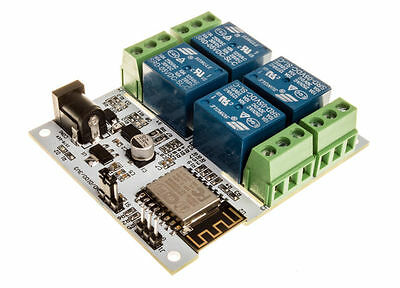 5V 4-Channel Wifi Relay controller module for Arduino LinkNode R4