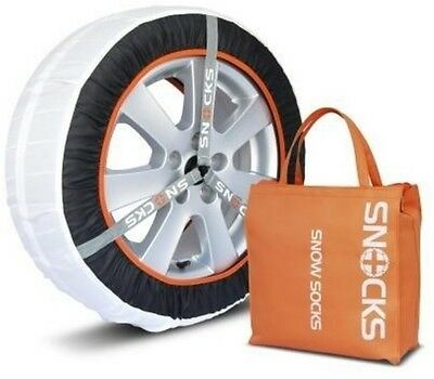 "New Genuine Vw Audi Seat Approved Snocks 46L Winter Snow Socks For 15-22"" Tyres"