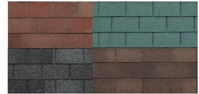 Roof felt tiles roof protector wooden house shed garden 3m²
