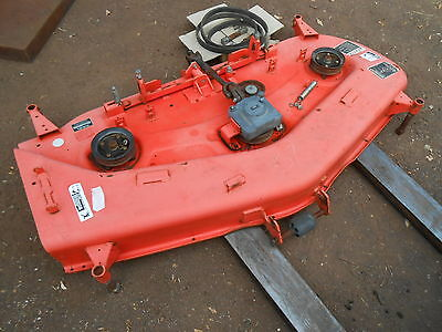 Kubota Mower Deck BX Series 60 inch mid mount in very good cond but missing part