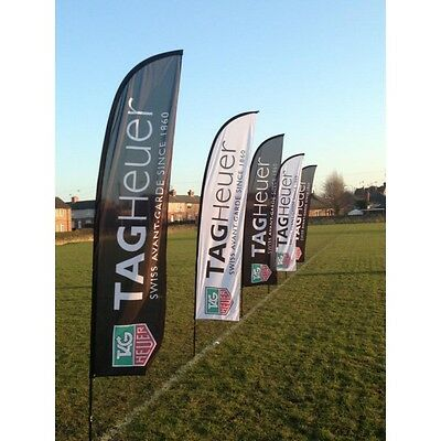 3.4m Feather Flag - Outdoor Advertising - Free Design