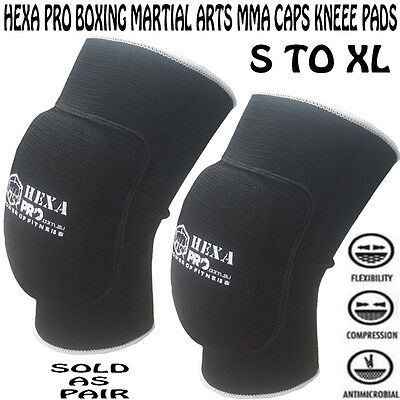 5hexapro boxing martial arts MMA caps Knee Pads brace Protector volleyball leg