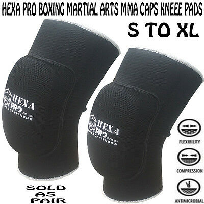 hexapro boxing martial arts MMA caps Knee Pads brace Protector volleyball leg