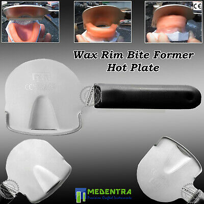 Denture Bite Rim Former Dental Ortho Wax Paddle Hot Plate Rims Trimmer MEDENTRA®