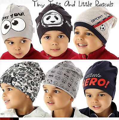 Baby Boy Infant Toddler Cotton Elastic Spring Autumn Hat Beanie Cap 6 - 4 years