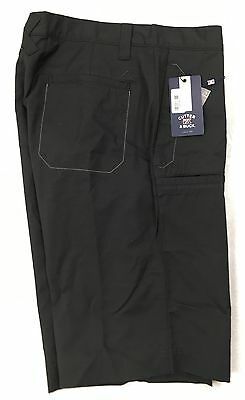 Cutter & Buck Dogleg Golf Shorts W32 Black -  Tagged at £46 - 1st Class Post