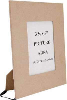 """Paper Mache Frame 3.5""""X5"""" Photo Opening 28-4042"""