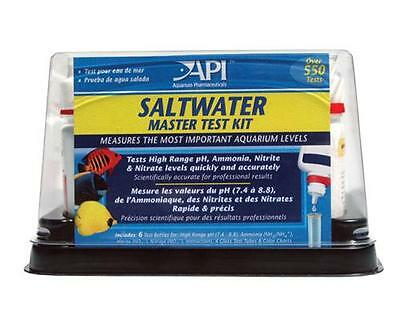 API Saltwater Master test kit  all 2020 test dates