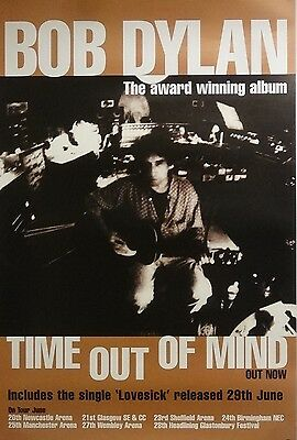 Bob Dylan 20x30 Time Out Of Mind Music Promo Poster