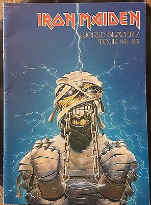 Iron Maiden World Slavery Tour Program
