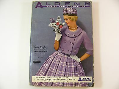Aldens Catalog 1961 Spring and Summer Mother Daughter suits fashions housewares