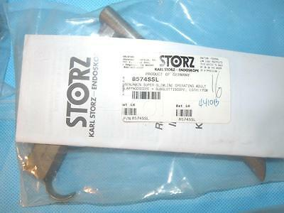 Storz 8574SSL Benjamin Super slimline operating Laryngoscope subglottiscope 17cm