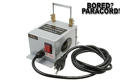 Bench Mount Electric Paracord Cutter And Sealer Model H-2 - Bored Paracord