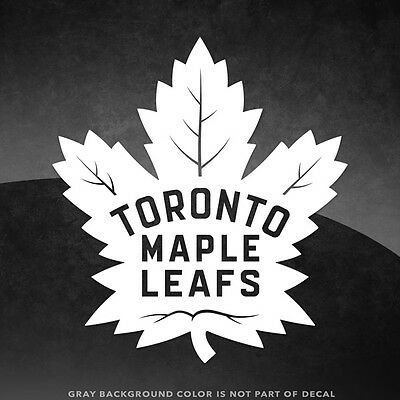 "Toronto Maple Leafs NHL Vinyl Decal Sticker - 4"" and Larger - 30+ Color Options!"