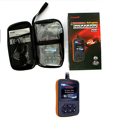 iCarsoft i906 OBD2 OBDII Diagnostic Tool Multi System Scanner For Volvo / Saab