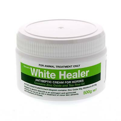 White Healer Antiseptic Cream Horse Equine 500g Anti Bacterial Fungal Germicidal