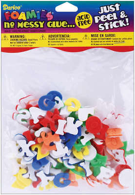 Foam Stickers 135/Pkg Mini Alphabet 1044-62