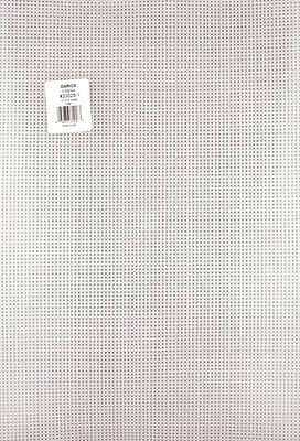 "Plastic Canvas 7 Count 12""X18"" Clear 33029"