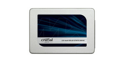 """CRUCIAL® MX300 275GB SATA3 2.5"""" 7MM (With 9.5MM Adapter) Solid State Drive (SSD)"""